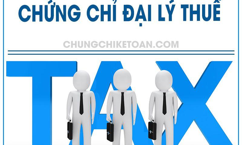 Chứng chỉ đại lý thuế