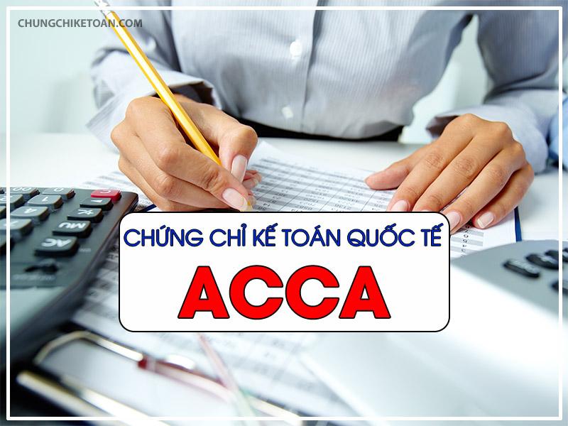 Chứng chỉ kế toán quốc tế ACCA